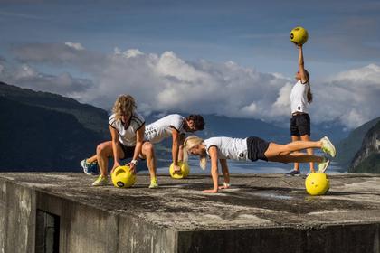 Ball trening